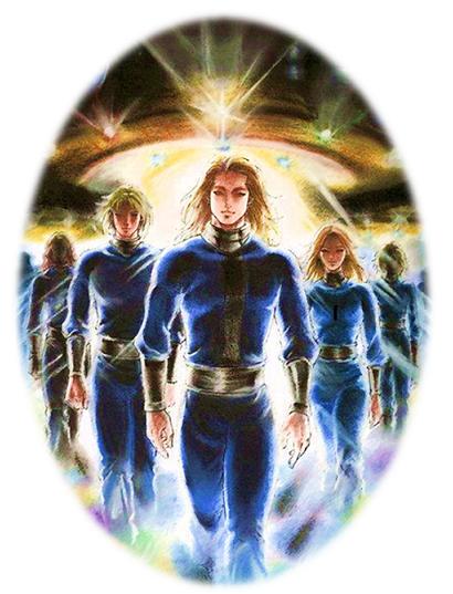 昴宿星艦隊<給地球上的星際種子一個天使信息>