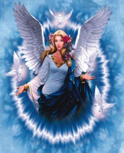 大天使漢尼爾<改變自己,堅定的行動-宇宙中沒有任何力量可以打敗一個覺醒的人></noscript>
