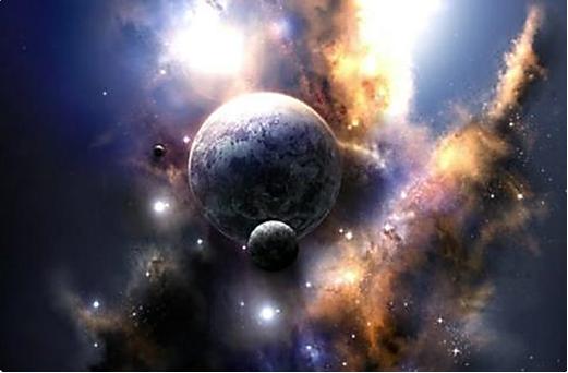 巨大的宇宙之門開啟