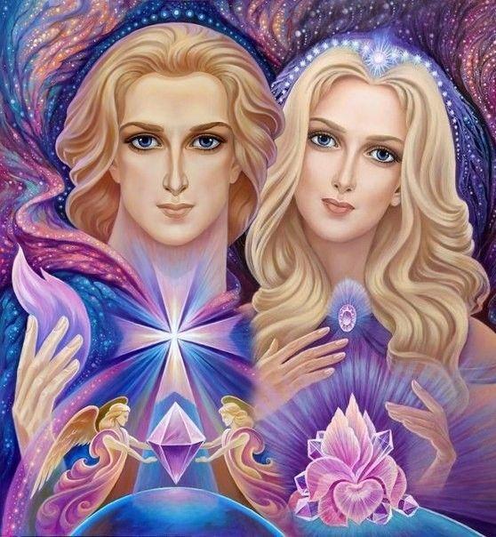 大天使紫水晶夫人<啟蒙:光的流動,體驗造物主之光流經你的存在~帶來智慧,啟迪,療癒和真理></noscript>