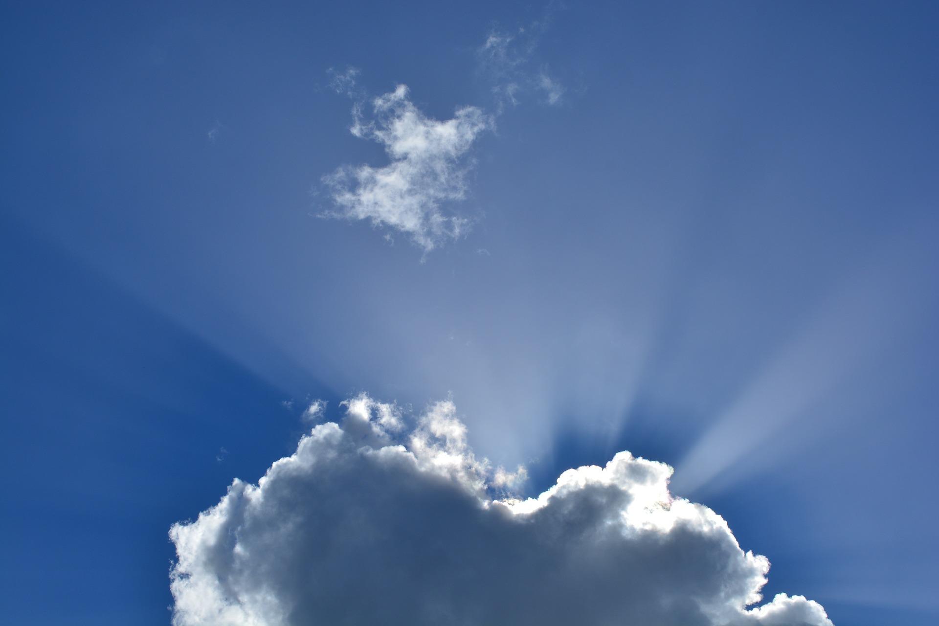 轉動梅爾卡巴移開雲層