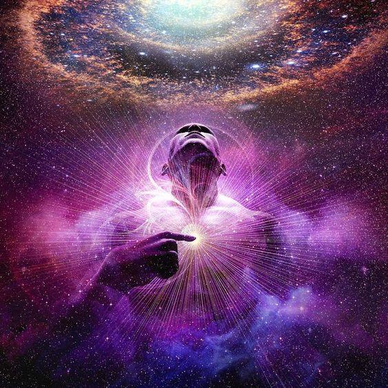 唯有靈魂與宇宙深深地連結著,沒有其它任何東西