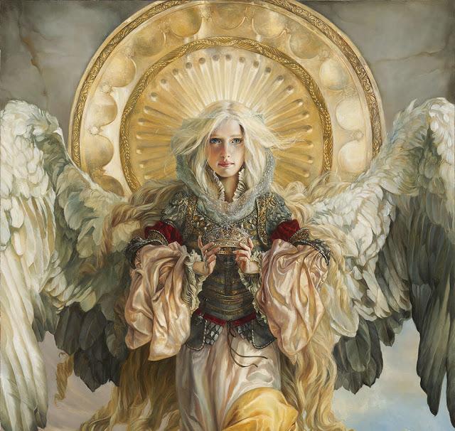 大天使薩基爾和六翼天使集體《最神聖的重生時刻》